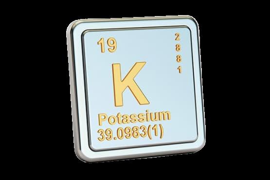 Značka Draslík Kalium Potassium